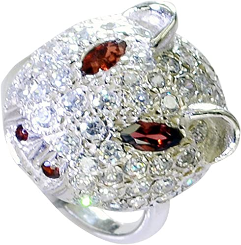 925 Sterling Silver Ring All Sizes Silver Ring Natural Ruby Silver Ring Available in 3 designs 12*13 MM Stone Size
