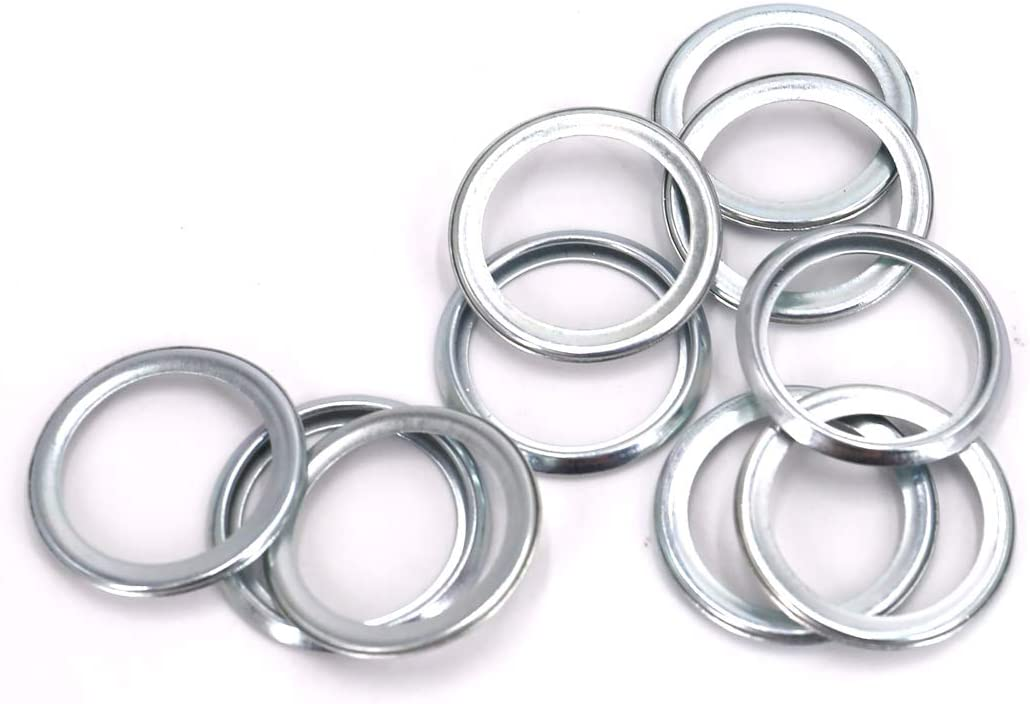 UTSAUTO Oil Drain Plug Gaskets M20 Crush Washers Seals Rings Part # 11126AA000, 10 Pack