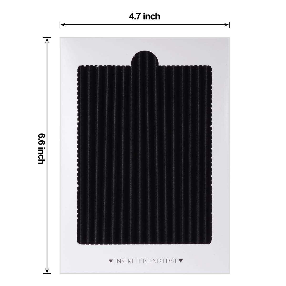 Carbon Activated Filter Replacement fits PAULTRA EAFCBF 242047801 4-Pack