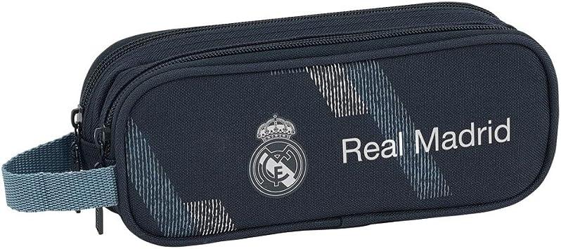 Safta 231189 Real Madrid 2 Estuches 21 cm, Azul: Amazon.es: Juguetes y juegos