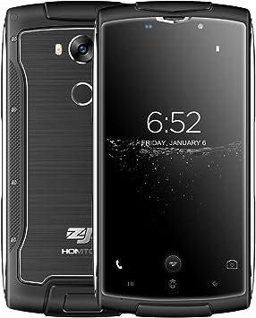 ZOJI Z7 - IP68 Impermeable Metálico Robusto 4G Android 6.0 Smartphone Ultra Fino, 5.0 Pulgadas Corning Gorilla Pantalla de Cristal, MTK6737 Quad Core 1.3GHz 2GB RAM 16GB ROM, 5MP + 13MP Negro: Amazon.es: Electrónica