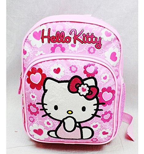 Hello Kitty Mini Backpack Pink Flower Bow New School Bag 84022