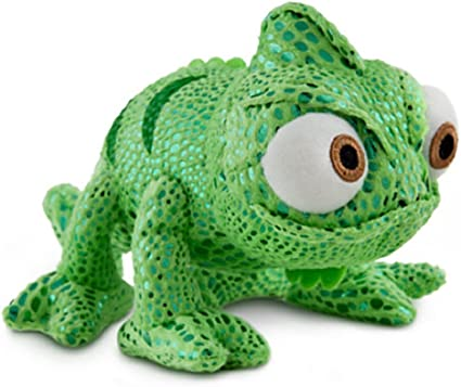 "*New Disney Store 8/"" Soft Plush PASCAL Tangled Series Chameleon Toy Bean Bag"