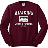 Hawkins Middle School AV Club Sweatshirt - Stranger Things Inspired Sweater - Unisex Fit