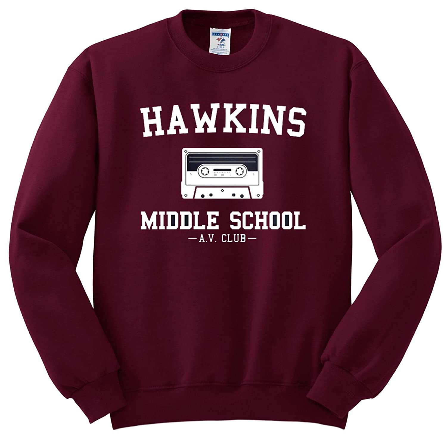 d56689a5a70c 85%OFF Hawkins Middle School AV Club Sweatshirt - Stranger Things Inspired  Sweater - Unisex Fit