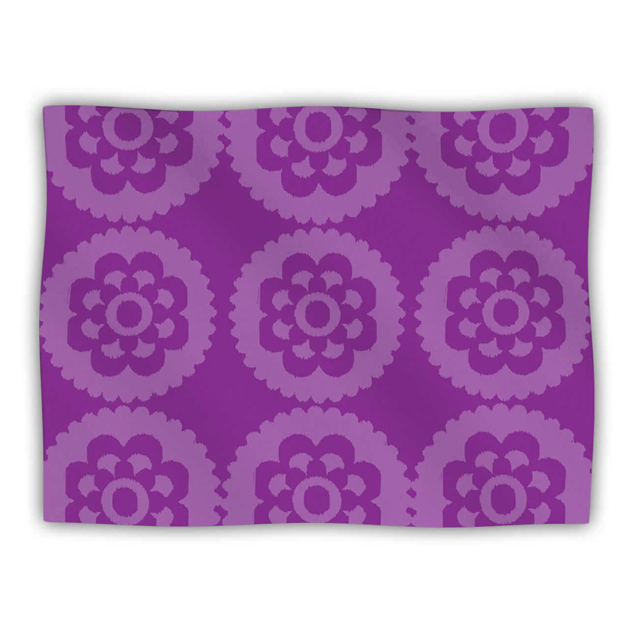Kess InHouse Nicole Ketchum 'Moroccan Purple' Dog Blanket, 40 by 30-Inch