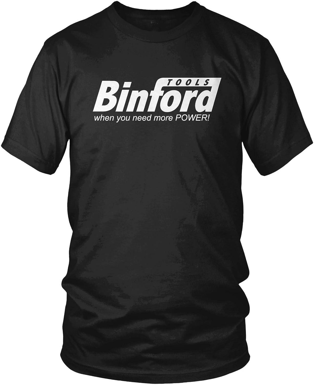 Amdesco Men's Binford Tools, When You Need More Power T-Shirt