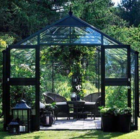 Invernadero de cristal Horticole Premium 10, 9 m²: Amazon.es ...