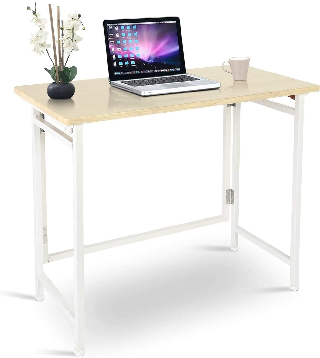 Aludest Electric Standing Desk Frame 47.2 x 23.6 Inch Tabletop - a good cheap modern office desk