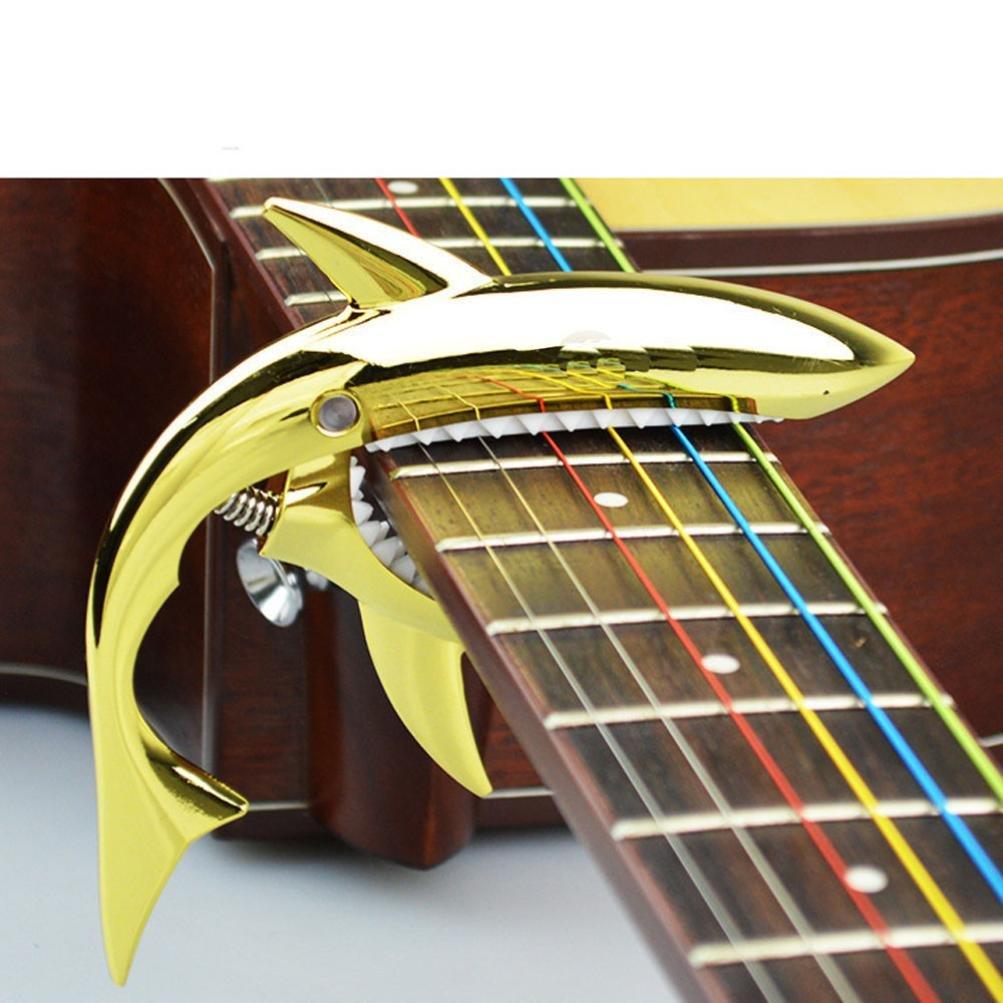 Gaddrt - Abrazadera para guitarra de cambio rápido con forma ...