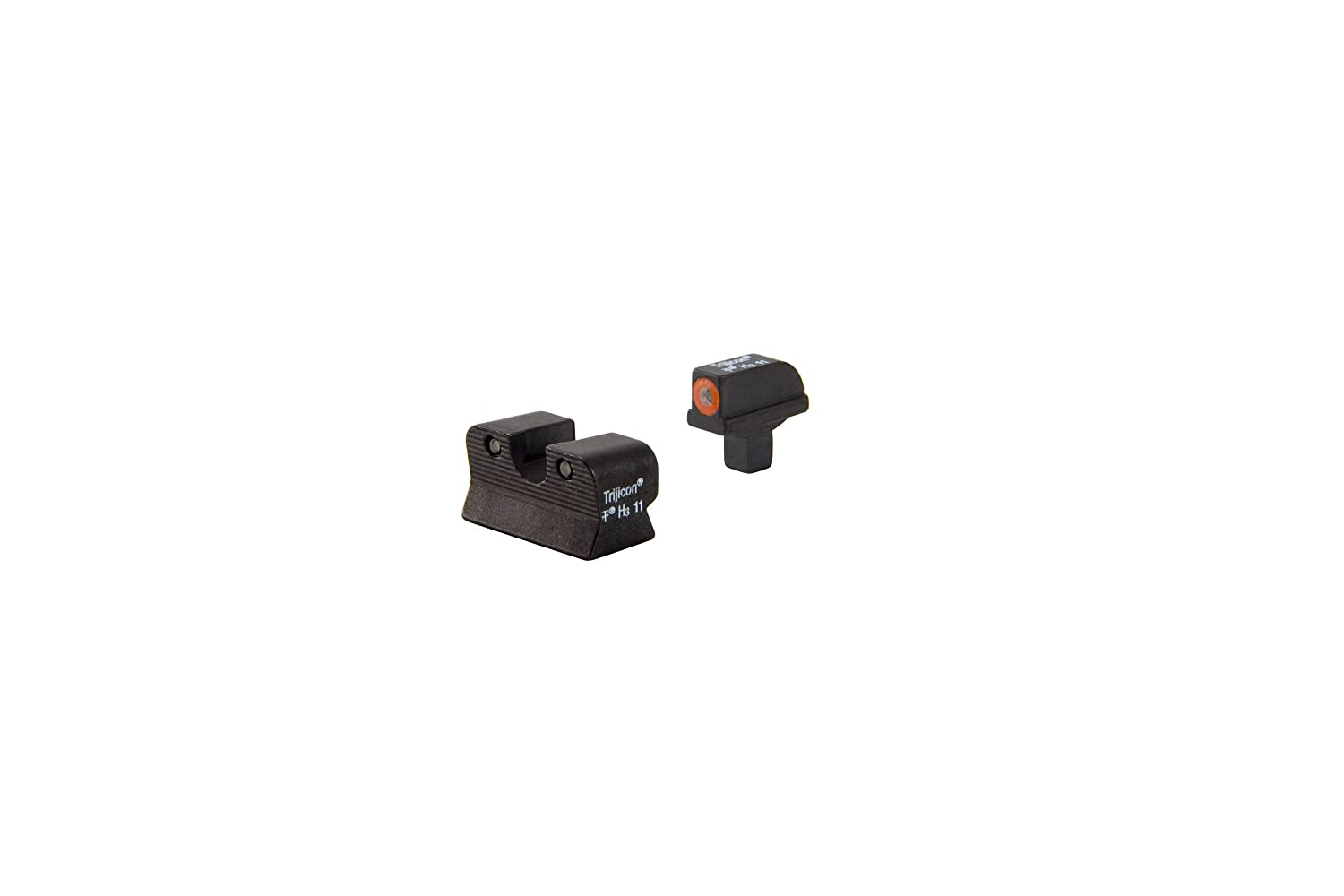 amazon com trijicon hd front outline night sight set for colt
