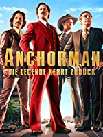 Filmcover Anchorman - Die Legende von Ron Burgundy