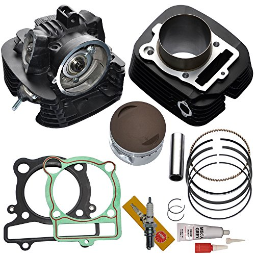YAMAHA BIG BEAR 350 CYLINDER HEAD PISTON GASKET TOP END KIT SET 2x4 4x4 1987 1988 1989 1990 1991 1992 1993 1994 1995 1996