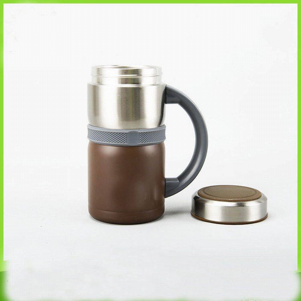 Edelstahl Männer und Frauen Geschäft Cup Kreative Großraum Büro Tasse Mode Geschenke Isolierung Wasser Tasse,EIN