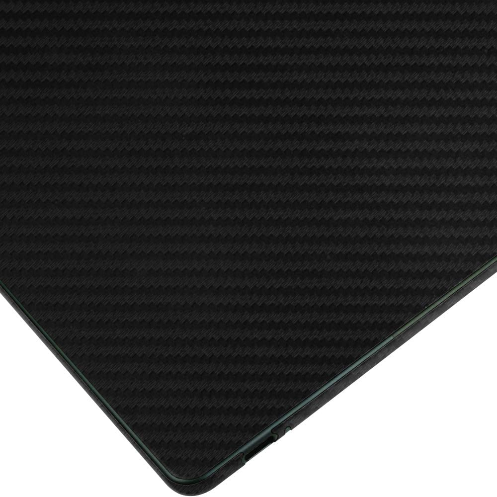 Skinomi Google Pixel Slate Screen Protector Black Carbon Fiber Full Body TechSkin Carbon Fiber Film for Google Pixel Slate with Anti-Bubble Clear Film Screen