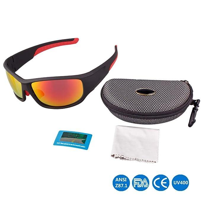 Amazon.com: HTWY Gafas de sol polarizadas para hombre, gafas ...