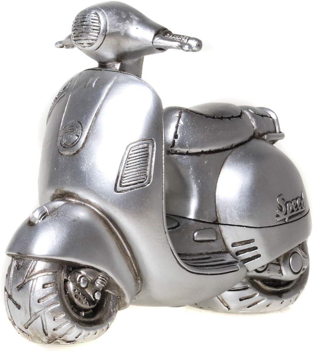 UDO Schmidt 89236 Tirelire pour Scooter Argent Vieilli