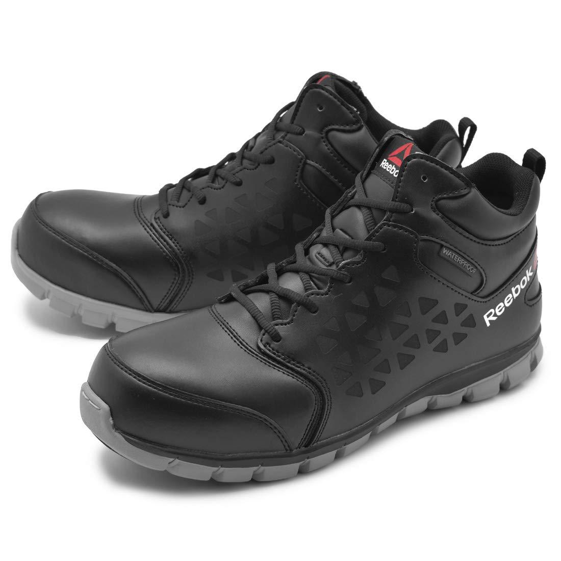 [リーボック] ワーク 安全靴 サブライト クッション ワーク アスレチック ウォータープルーフ ミッドカット RB4144 メンズ [並行輸入品]  B07MM5DMJL