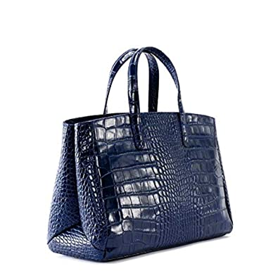 3dc60cbe63 Oh My Bag Be Lady Women s Crocodile-Effect Leather Handbag Blue Size  One  Size