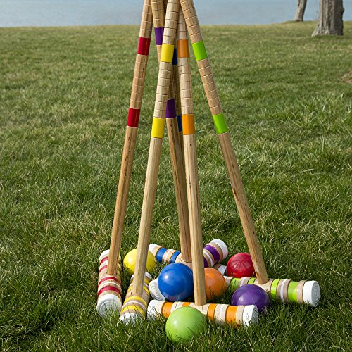 Complete Croquet Set Carrying Case