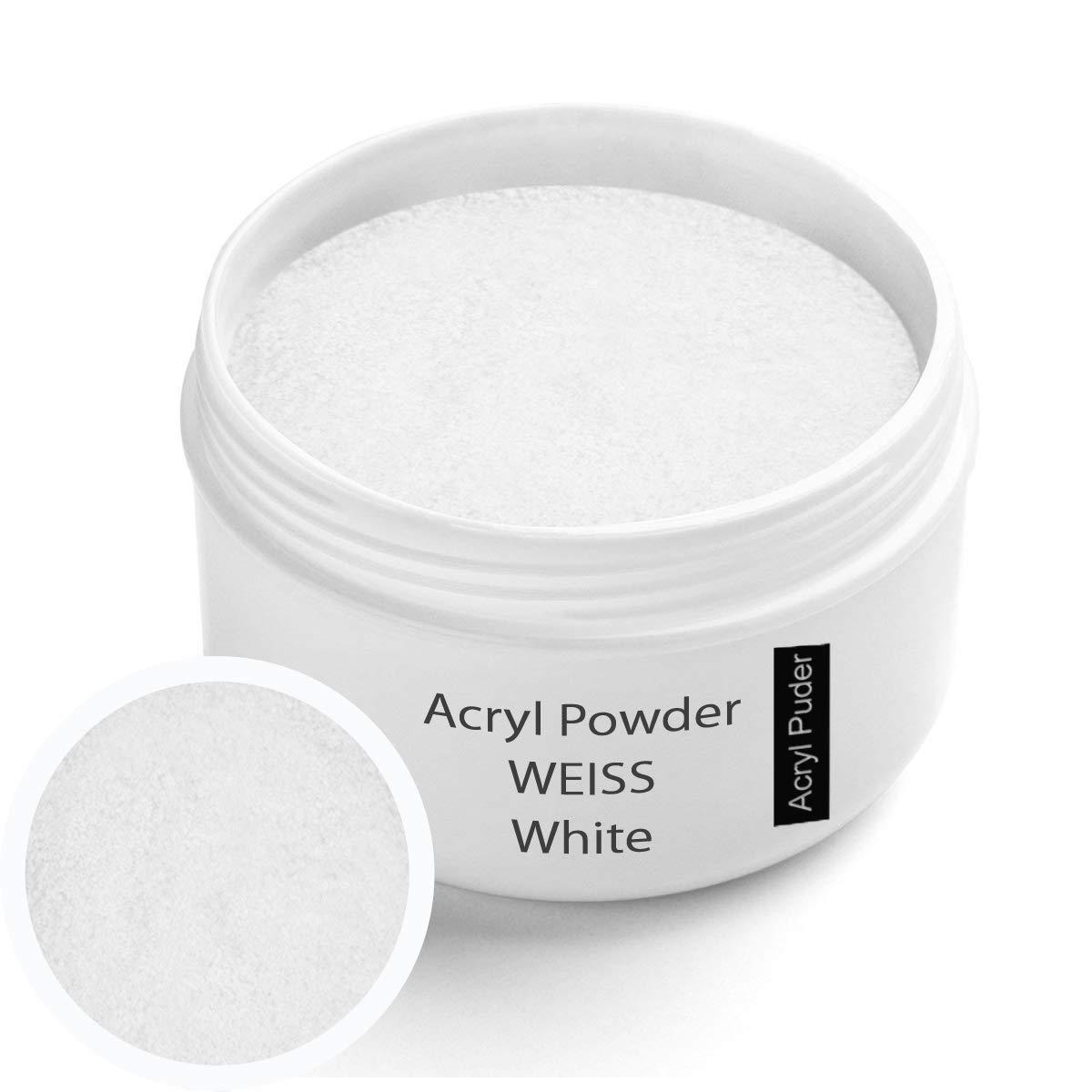 Acrylic powder white 30g Sun Garden Nails 2479