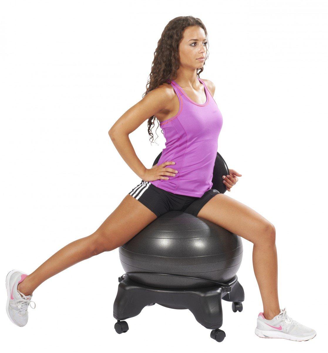 Bürostuhl ergonomisch ball  Trendy Sport Cadeira Sitzball, Fitnessball, Bürostuhl, Sportball ...