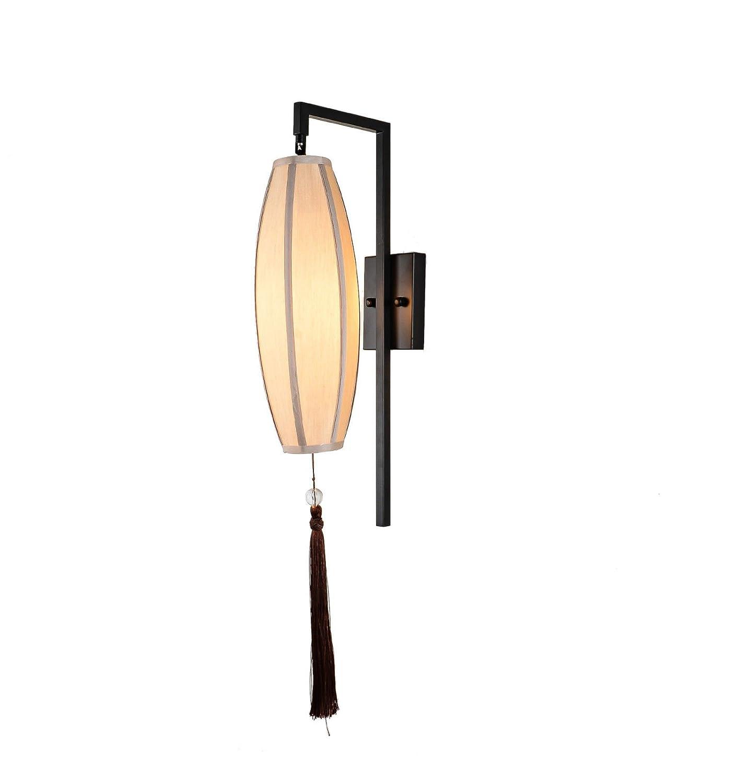 Retro neue chinesische einfache kreative laterne tuch abdeckung gang treppenhaus lampe Persönlichkeit nachtwandflur wandleuchte