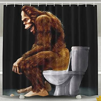 Amazon.com: Exquisite Household Goods Humanoid Orangutans Upper WC ...