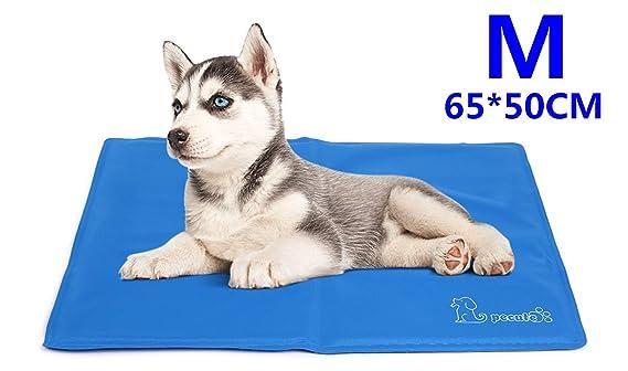 Pecute Kühlmatte Hunde Katzen Haustiere,selbstkühlende Matte,Kaltgelpad für Katzen und Hunde, Kühlmatte Tiere, Kühlkissen, Kü
