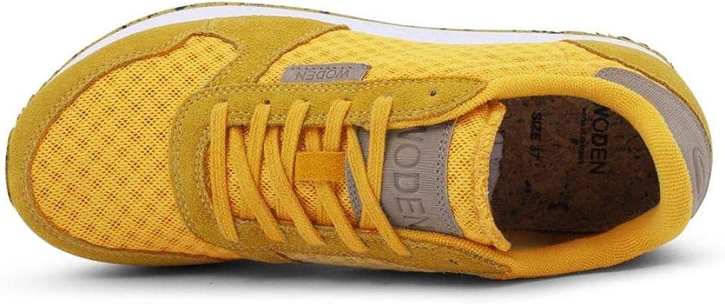 Woden Sneakers Ydun Suede Mesh 096 Mango