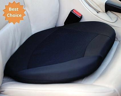 Kenley Orthopedic Gel Cushion For Car Seat With Memory Foam Side