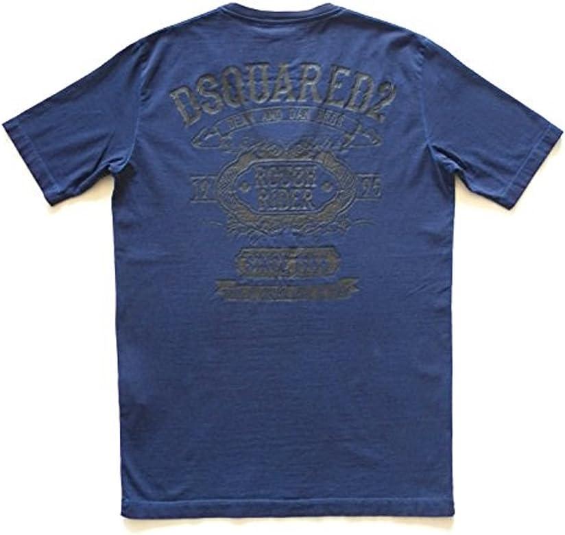 finest selection fa33e fdf4f dsquared dsquared2 t-Shirt Maglia Manica Corta Uomo Cotone ...