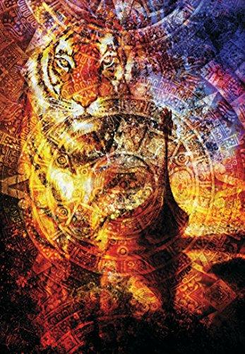 - PuzzleKorea 1000piece Jigsaw Puzzle Viking Tigers Mayan calendars