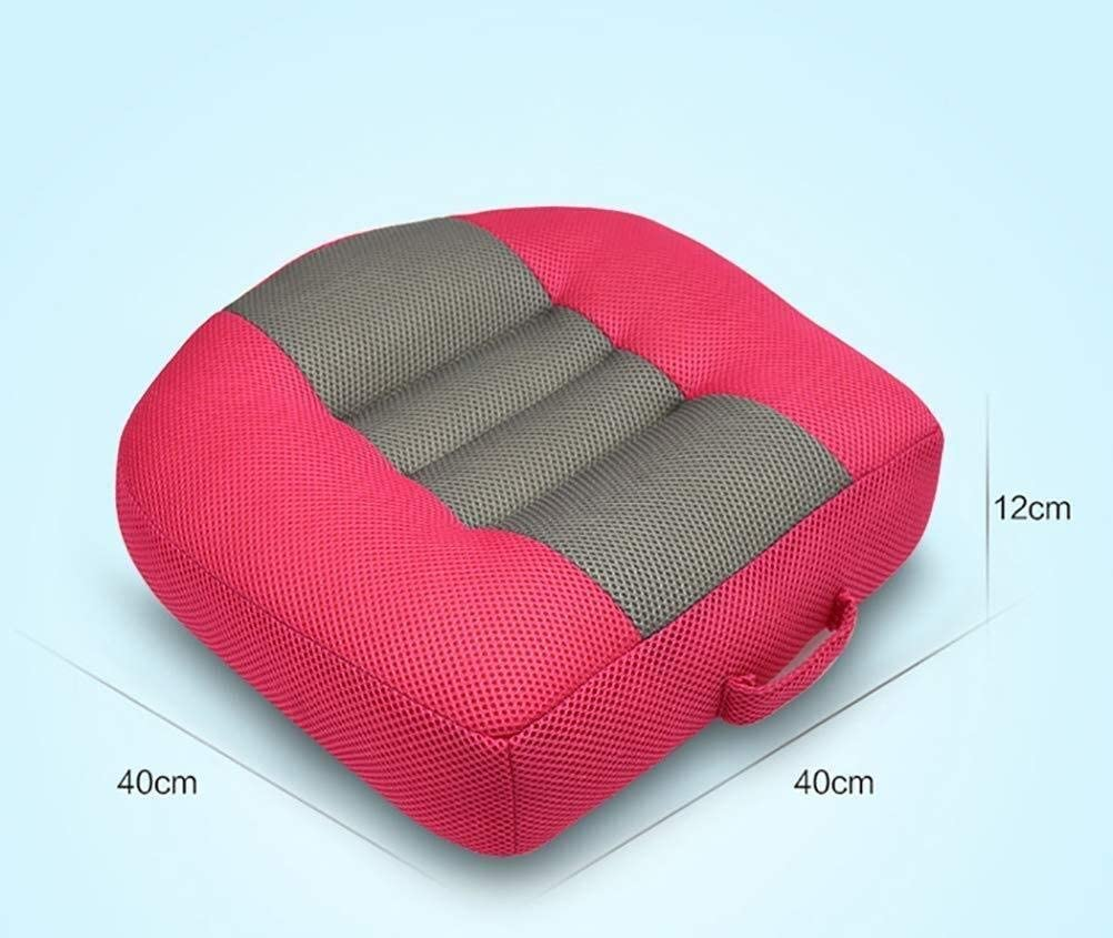 HTZ Car Seat Cushion Pad for Car Driver Seat Office Chair Color : Grey Portable Breathable Mesh Car Booster Seat Cushion
