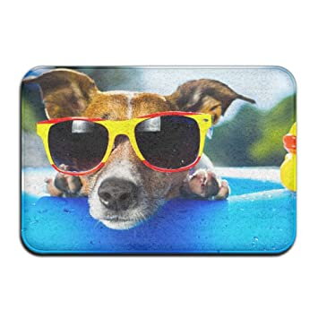 jjhouse Cool Perro gafas de sol Anti Slip Welcome Felpudo ...