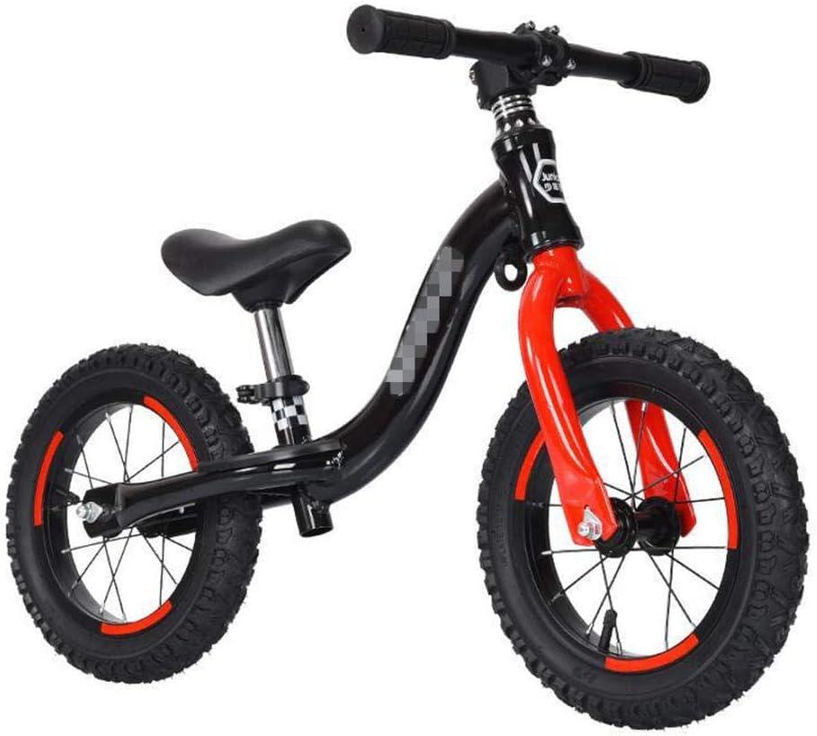 YSCYLY Balance De Bicicletas,Coche de Juguete de aleación de Aluminio de 12 Pulgadas y 14 Pulgadas,De Dos Ruedas De Bicicletas Sin Pedales para NiñOs