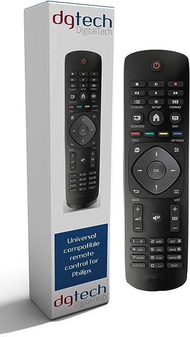 DigitalTech® - Mando Universal para televisores Philips. Compatible con más de 250 mandos Philips.: Amazon.es: Electrónica