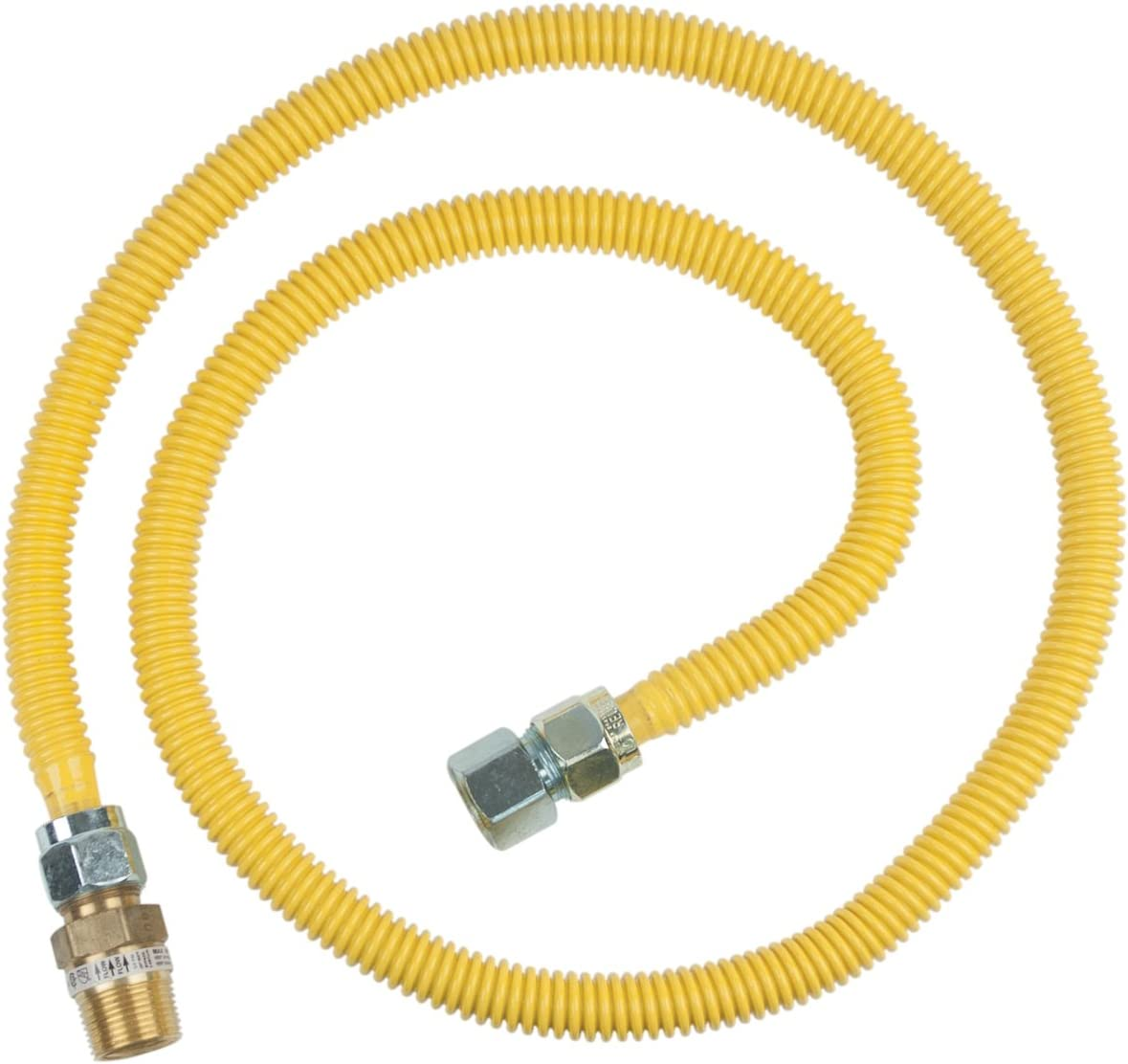 BrassCraft CSSC12R-72 P Gas Appliance Connector