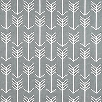 Amazon.com: Premier Prints Arrow Cool Grey Fabric - By the Yard