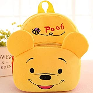 7bffd433acd Kids Cute Bear Cartoon Animal Zipper Plush Children School Stationery Backpack  Bag