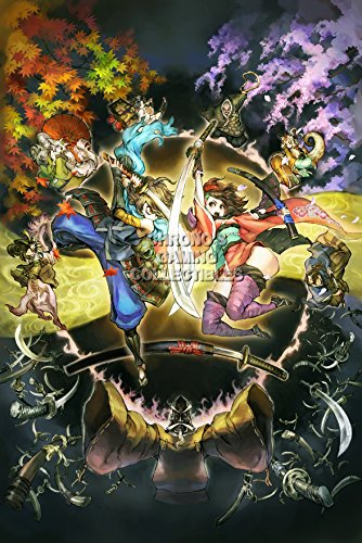 "Price comparison product image PremiumPrintsG - Muramasa The Demon Blade Wii - XEXT086 Premium Canvas 11"" x 17"" (28 cm x 43 cm)"