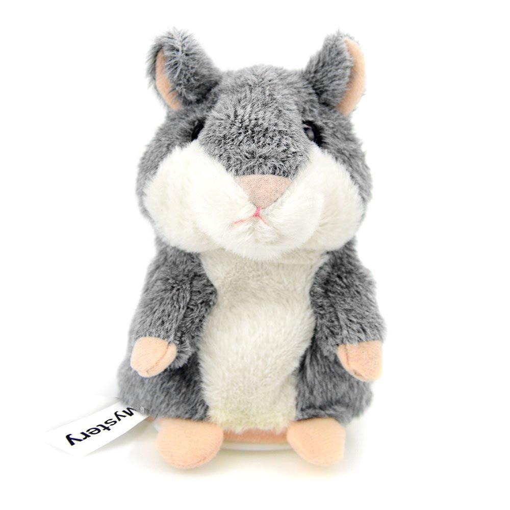CestMall Criceto Parlante Ripete Quello Che Dici Talking Hamster Peluche Giocattoli per Bambini Animale Elettronico, 3 x 5.7 Pollici