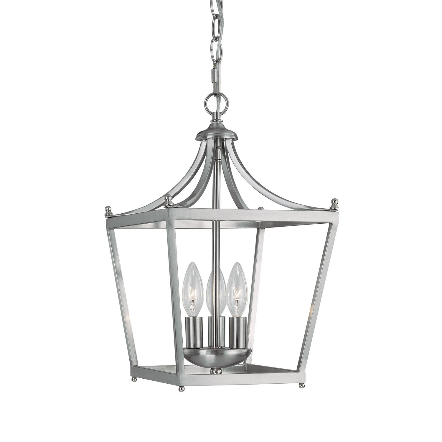 Capital Lighting 4036BN Foyer Brushed Nickel Finish Chandeliers