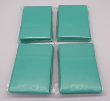 2 x 100 Docsmagic.de Double Mat Blue Card Sleeves Standard Size 66 x 91 Blau