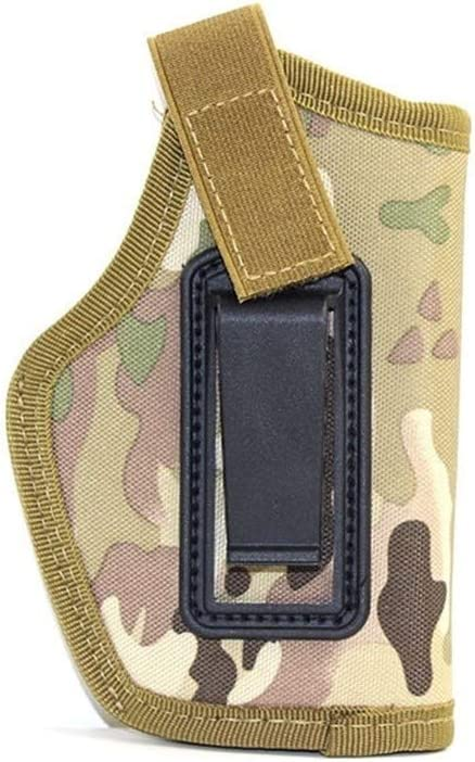 Vioaplem Pistolera táctica de Glock 17 19 Colt 1911 Beretta M9 Makalov Taurus pistolera de la Pistola de Airsoft de la Cintura encubrió Lleva Pistola Caso