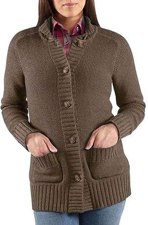 Amazon.com: Carhartt Tomboy chaqueta de punto Sweater de la ...