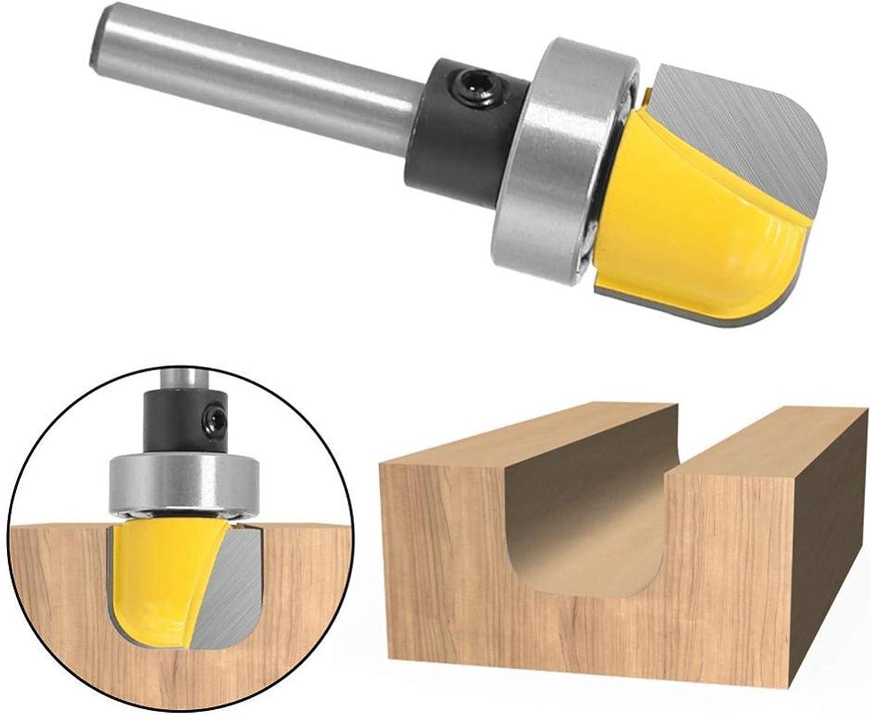 Durable Tools Auart Leiy-Shank 3//4 Diameter Bowl Tray Template Router Bit 1//4 6mm Shank Cutting Edge Length : 6.35X19.05