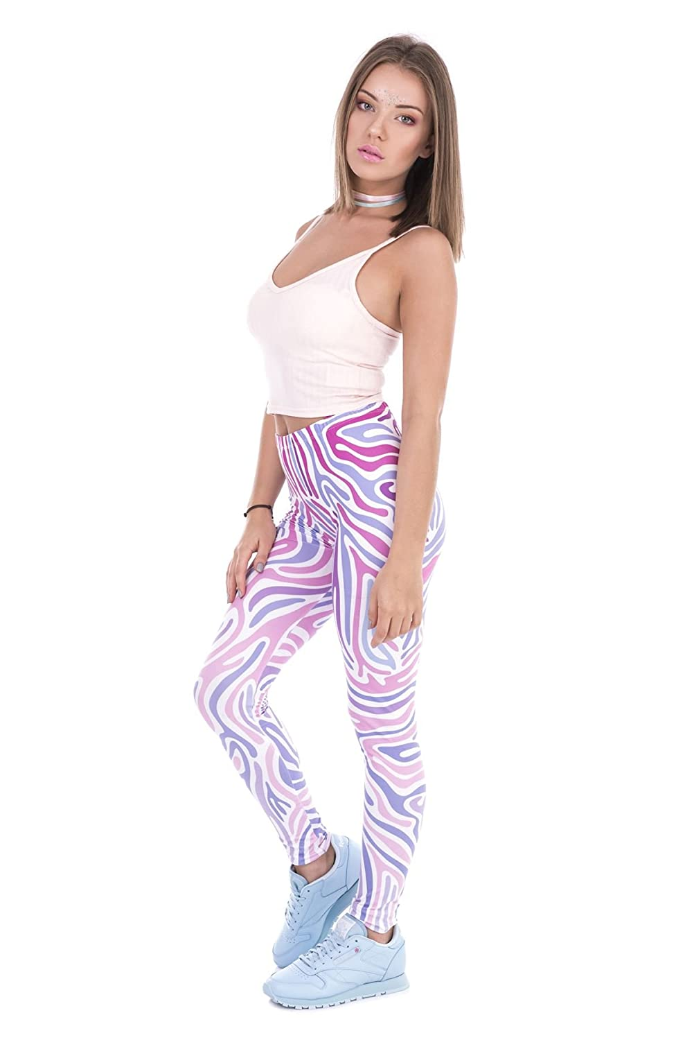 a882ea61a4af5 Sports & Outdoor Clothing Kukubird Unicorn Flamingo Emoji Womens Gym  Fitness Leggings Running Yoga Pilates Skinny Pants Tights Size 6-10  Stretchable