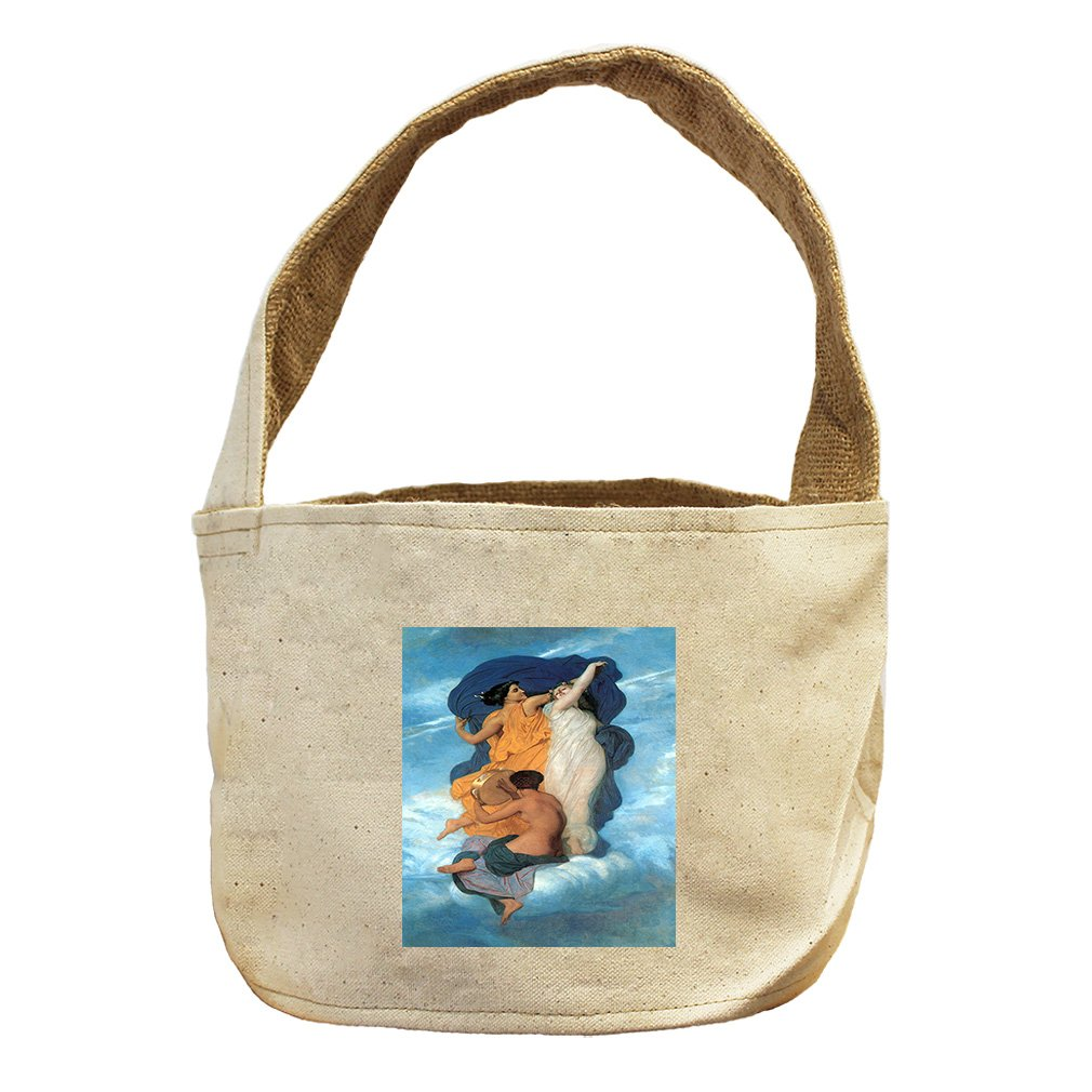 Style in Print The Dance (Bouguereau) Canvas and Burlap Storage Basket Basket