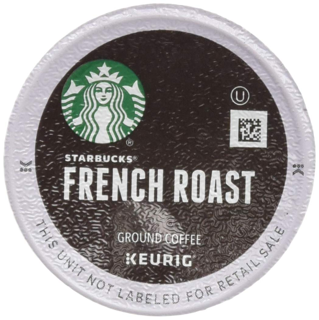 Starbucks French Roast Dark Coffee, 72 K-Cups, (3 Pack of 24 k-cups)